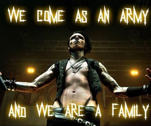 black veil brides, andy biersack, and bvb army image