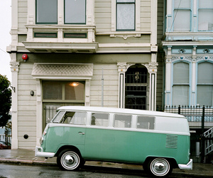 san francisco, vw bus, and volkswagen bus image