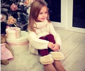 girl, cute, and christmas image