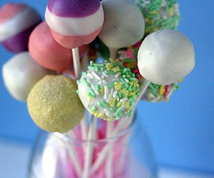 balls, cake, and cake pops image