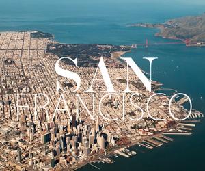 san francisco, city, and travel image