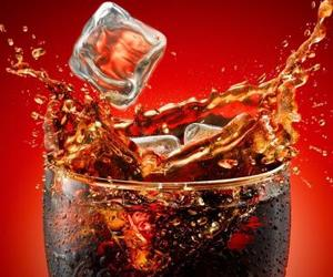 coca-cola, drink, and ice image