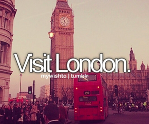 london, before i die, and visit image