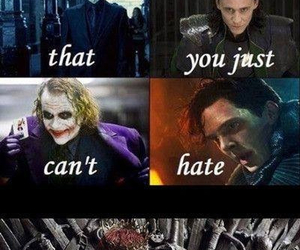 villain, game of thrones, and loki image