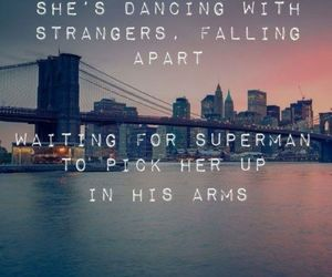 superman, daughtry, and Lyrics image