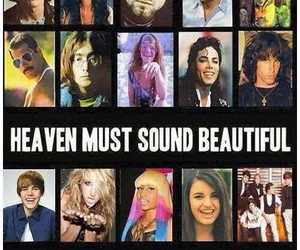 heaven, hell, and music image