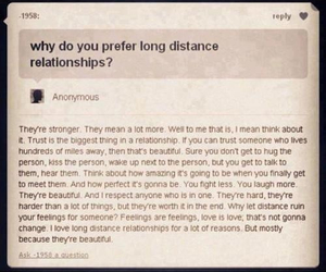 Relationship, love, and distance image