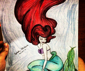 ariel, beautiful, and beauty image