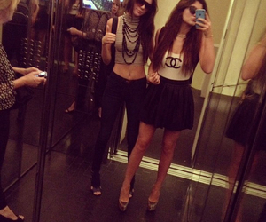 kendall jenner, kylie jenner, and chanel image