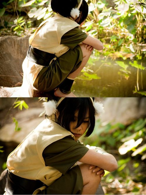avatar, toph, and cosplay image