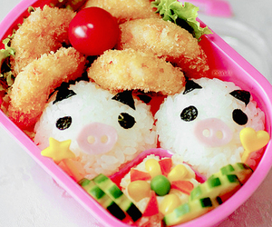 food, cute, and bento image