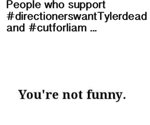 no, tyleroakley, and directioners image