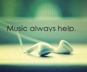 music, help, and love image