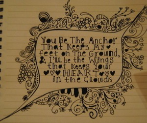 comment, you be the anchor, and mayday parade image