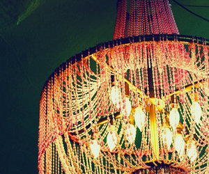 chandelier, photography, and pretty image
