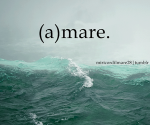 amare, sea, and mare image