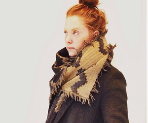 aritzia, winter, and brown image
