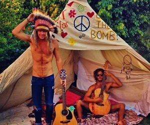 boy and hippie image