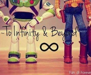 infinity, toy story, and woody image
