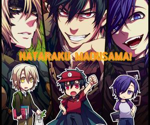 anime! and hataraku maou-sama! image