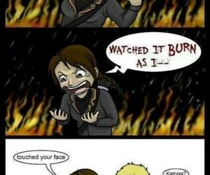 Adele, rain, and the hunger games image