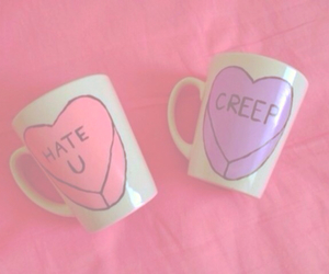 mug, creep, and cup image
