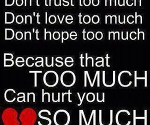 quotes, hurt, and trust image