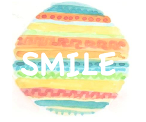 smile, colors, and quote image