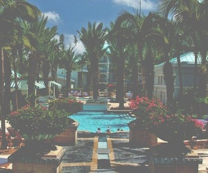 paradise, pool, and summer image