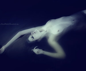 ghost, Nude, and ophelia image
