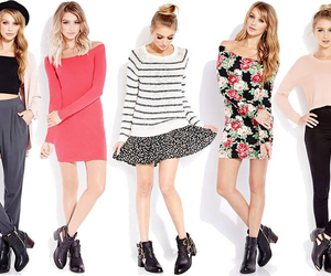 fashionable, forever 21, and outfits image