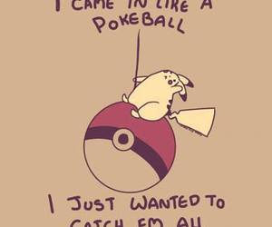 pokemon, pokeball, and funny image