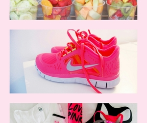 air max, fitness, and food image