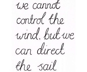 wind, sail, and quote image
