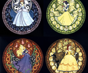 disney, cinderella, and kingdom hearts image