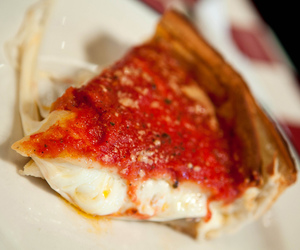 cheese, cheesy, and chicago image