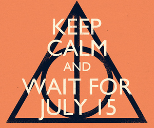 harry potter, keep calm, and deathly hallows image