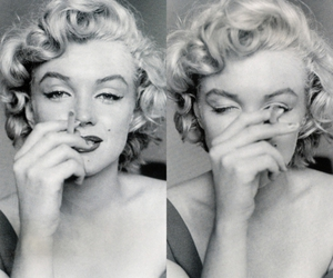 cigarretes, marilyn, and muse image