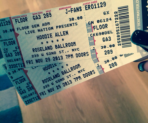 concert, nyc, and tickets image