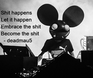 deadmau5 and quote image