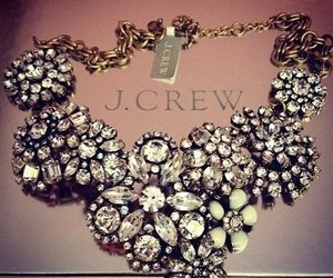 necklace, diamond, and J.Crew image