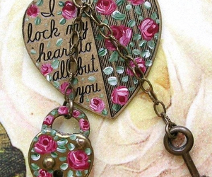 heart and key image