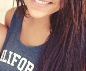 andrea russett and hair image