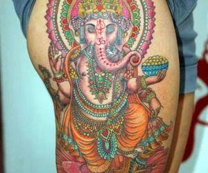 tattoo, Ganesha, and god image