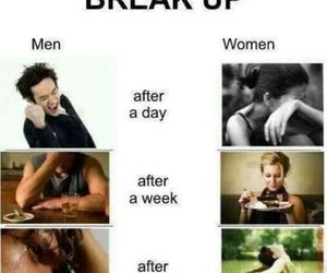 breakup, men, and truth image