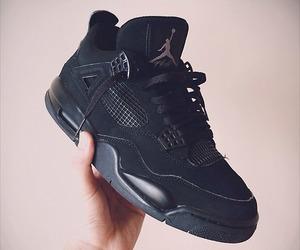 jordan, black, and nike image
