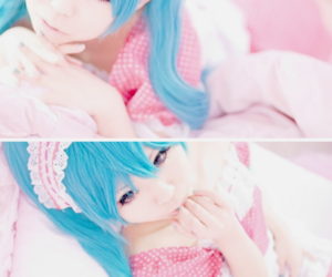 cosplay, miku hatsune, and vocaloid image