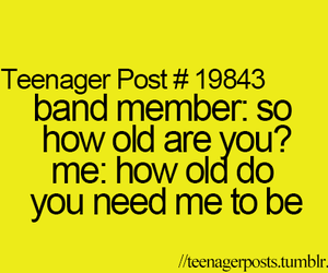band, teenager post, and age image