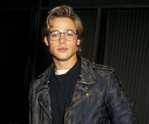 brad pitt, young, and Hot image