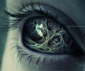 eye, fantasy, and eyes image